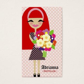 311 KILA FLOWER & BUTTERFLY INTERCHANGEABLE HAIR BUSINESS CARD