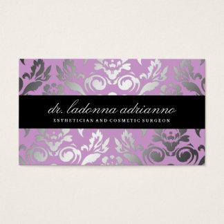 311 Ladonna Damask Lilac Business Card