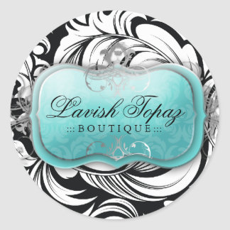 311 Lavish Topaz Stickers