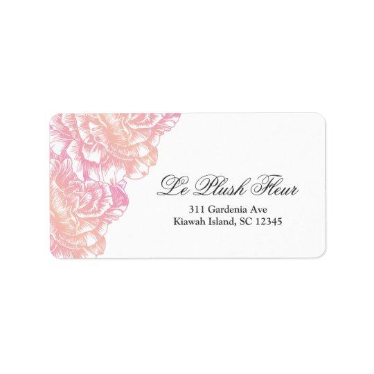 311-Le Plush Fleur - Creamy Pink