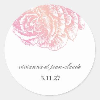 311-Le Plush Fleur - Creamy Pink Stickers