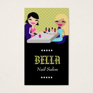 311-LIME NAIL SALON BUSINESS CARD