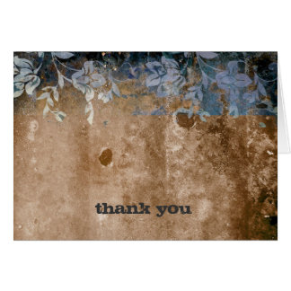 311-Lusciously Rustic Thank You Card