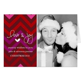 311 Merry Chevron Holiday Photo Card