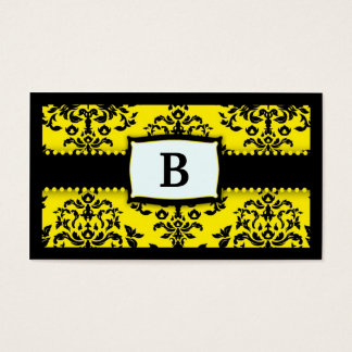 311 Monogram Icing on the Cake - Bee Business Card