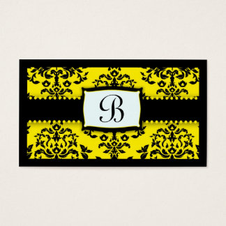 311 Monogram Icing on the Cake Bee Business Card
