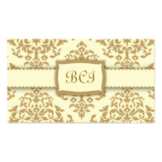 311-Monogram Icing on the Cake - Buttercream Business Card