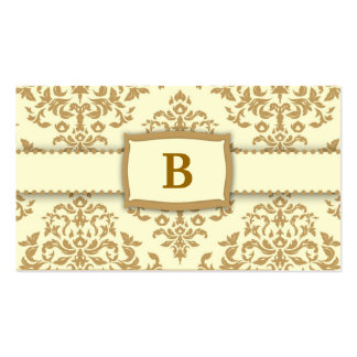 311-Monogram Icing on the Cake - Buttercream Pack Of Standard Business Cards