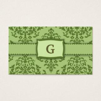 311-Monogram Icing on the Cake - Ivy garnish Business Card