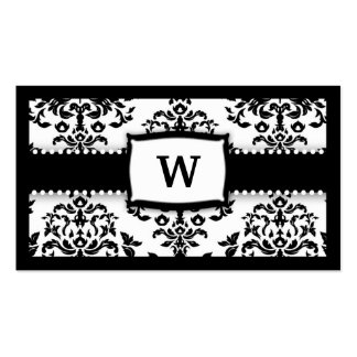 311-Monogram Icing on the Cake - Sugar Frosting Business Card