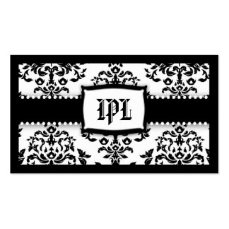 311 Monogram Icing on the Cake - Sugar Frosting Business Card