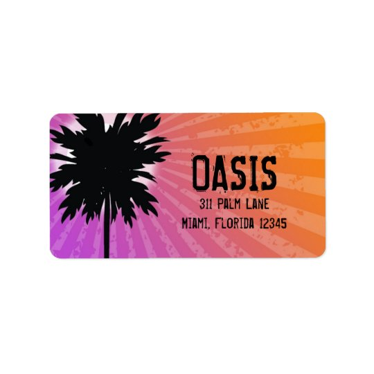 311 Oasis Palm Purple Label
