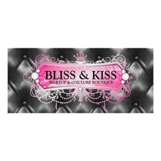 311 Pink Bliss Black Tuft Full Colour Rack Card