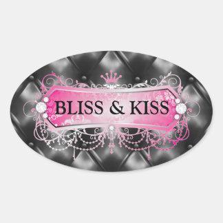 311 Pink Bliss Golden Tuft Sticker