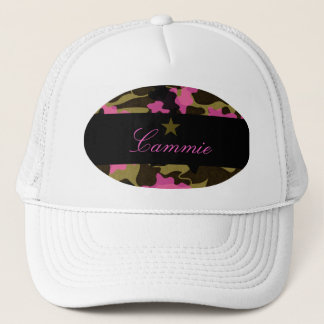 311 PINK CAMO STAR TRUCKER HAT