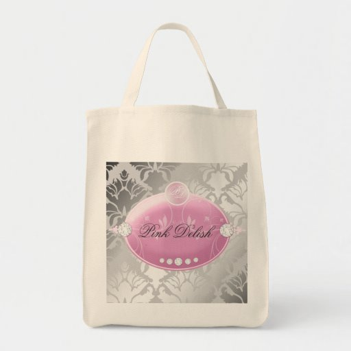 311 Pink Delish Silver Bags