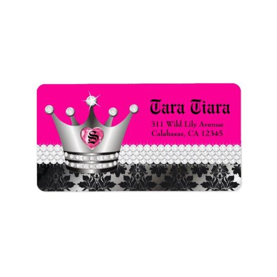 311 Princess Diva Heart Diamonds