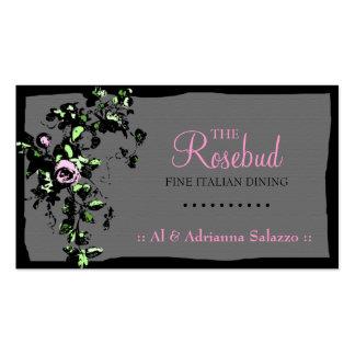 311 RAVISHING ROSEBUD BUSINESS CARD TEMPLATES