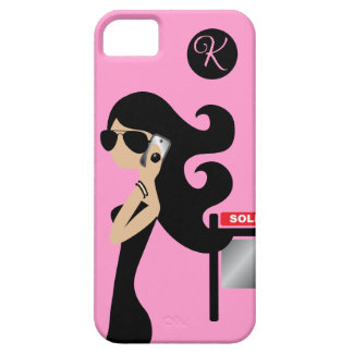 311 Real Estate Fashionista Brunette Aviators iPhone 5 Cases