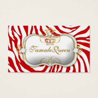 311 Red Hott Queen Business Card