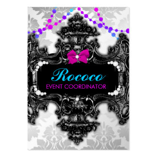 311 Rococo Wonderland Colorful Business Cards