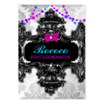 311 Rococo Wonderland Colourful Large Business Card