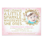 311 She Leaves A Little Sparkle Floral Wreath Card