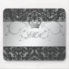 311-Silver Divine Charcoal Grey mousepad