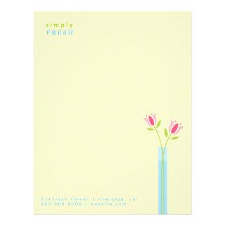 311-Simply Fresh Letterhead | Cream