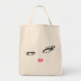 311-Smashing Lashes Tote Bag
