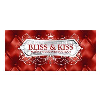 311 Snow Bliss Red Tuft Full Color Rack Card