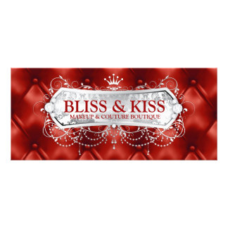 311 Snow Bliss Red Tuft Rack Card
