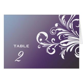 311-Swanky Swirls Table Numbers Hydrangea