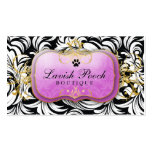 311-The Lavish Pooch | Purple Pack Of Standard Business Cards