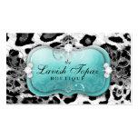 311 The Lavish Topaz Diamond Leopard Pack Of Standard Business Cards