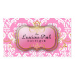 311 The Luscious Pink Plate Pink Business Card