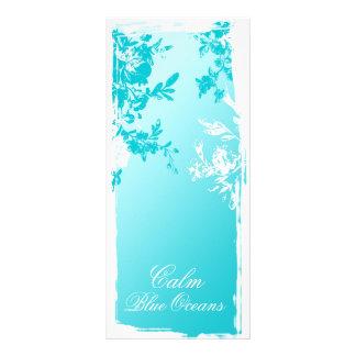 311 Tranquil Blue Garden Fade Rack Card