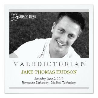 311 Valedictorian Graduation Announcement