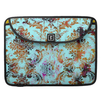 311 Vintage Turquoise Rust Grunge Sleeve For MacBook Pro