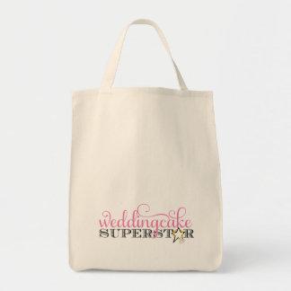 311 Wedding Cake Superstar Grocery Tote Bag