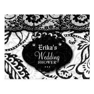 311-WEDDING SHOWER INVITATION POSTCARD