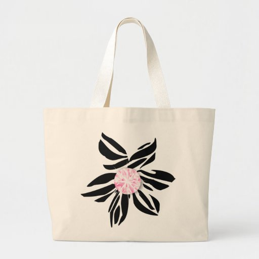 311-Wild Zebra Flower | Pink Diamond Bags