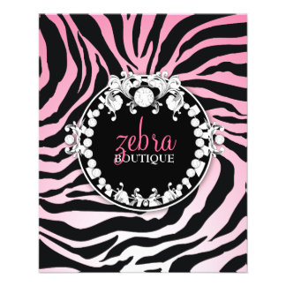 311 Zebra-tique Melon Personalized Flyer