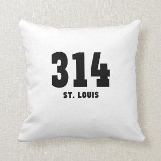 314 St. Louis Throw Pillow