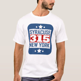 315 Syracuse NY Area Code T-Shirt