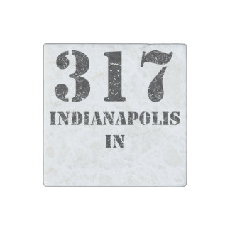 317 Indianapolis IN Stone Magnets