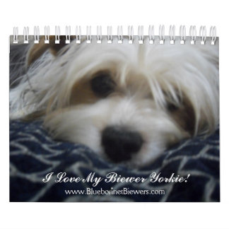 318, www.BluebonnetBiewers.com, I Love My Biewe... Wall Calendars