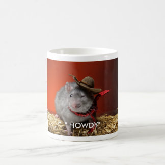 "_3196625, "" HOWDY"" COFFEE MUG"