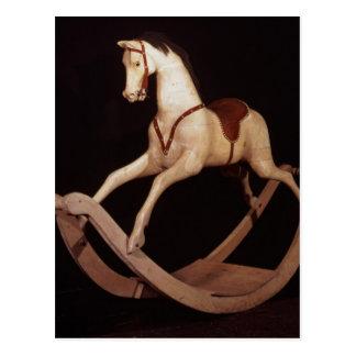 31:Rocking horse, English, 1840 Postcard