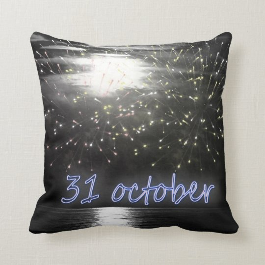 31's October night Pillow